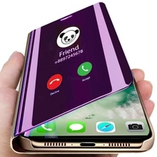 Умный зеркальный флип-чехол для телефона huawei Honor 8X 9X P30 Lite P20 Pro mate 30 20 10 Lite P Smart Z Y6 Y9 Y7 Prime 2019