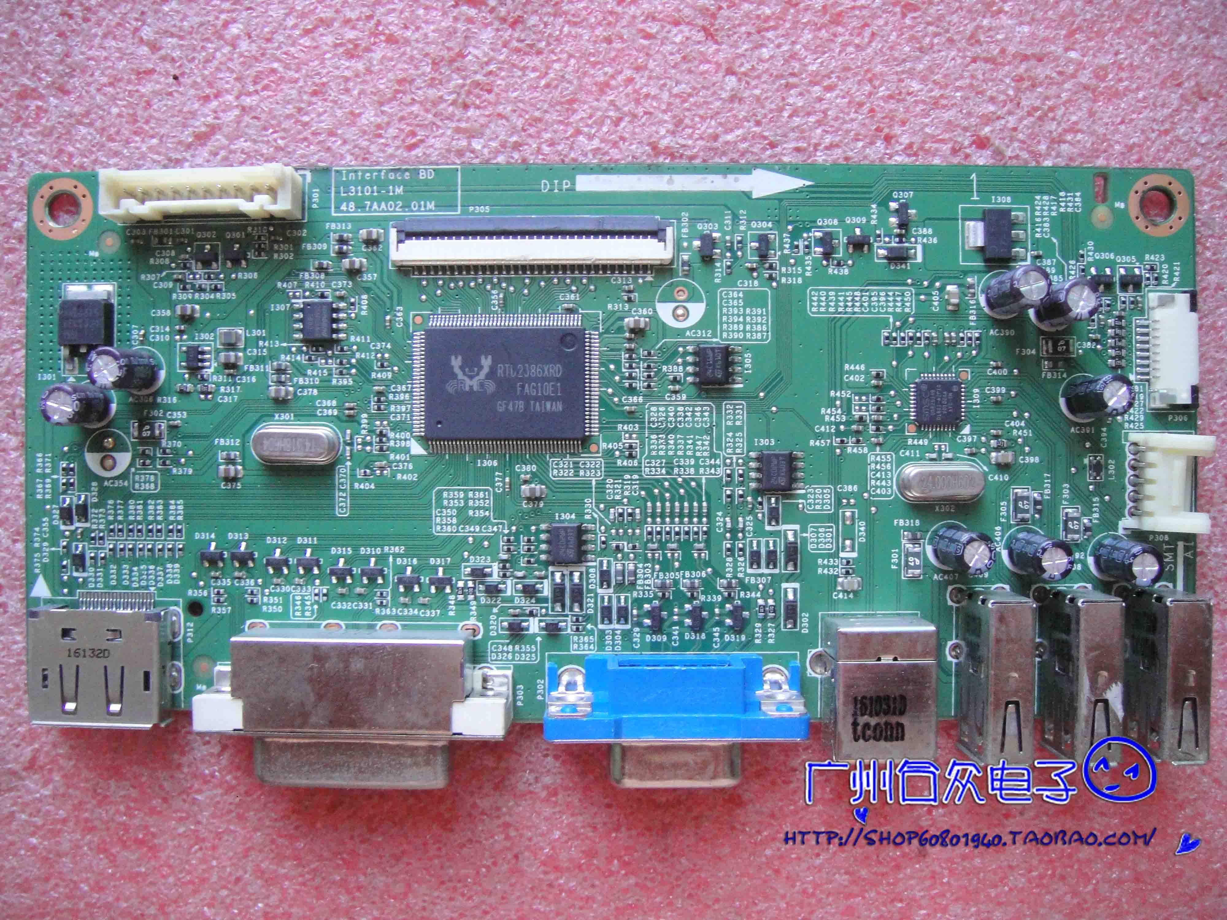 ديل P2314Ht L3101-1M 48.7AA02.01M مدفوعة لوحة شاشة HR230WU1-400