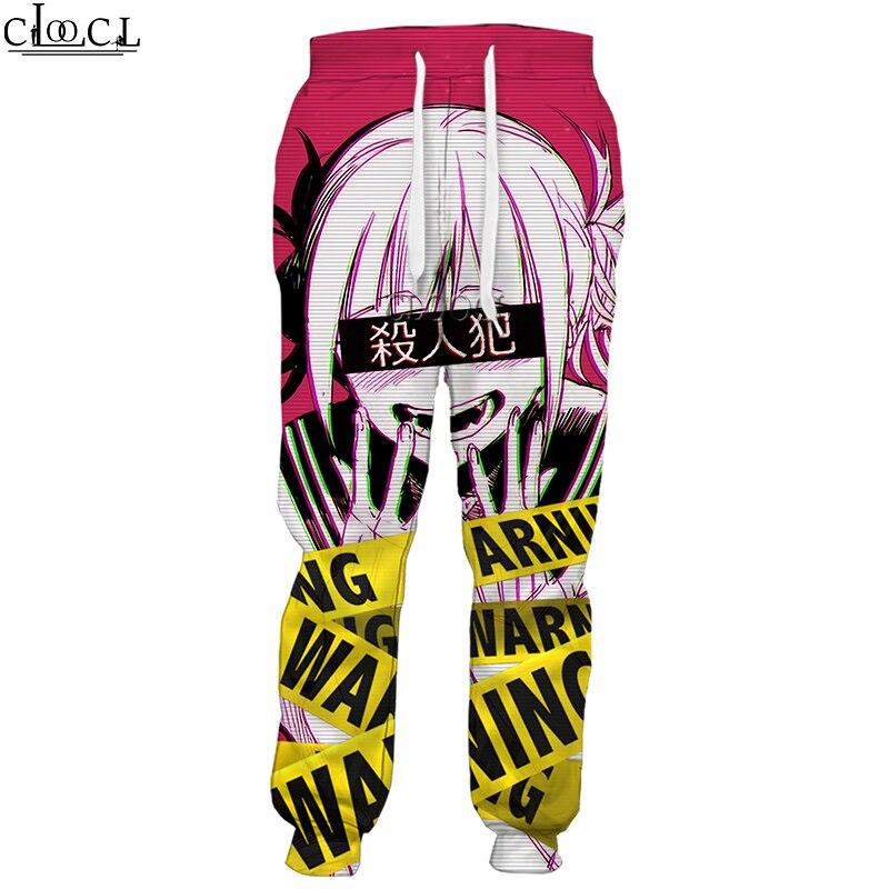 CLOOCL Anime Girl Sexy My Hero Academia Ahegao Manga New Men Women Sport Trousers 3D Print Fashion Hot Selling Men Hip Hop Pants