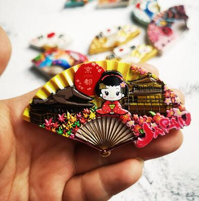 World Travel Fridge Magnet Japan Country Souvenir Fridge Magnets Japanese Culture Dance Ji Fuji Mountain Sumo Magnetic Sticker