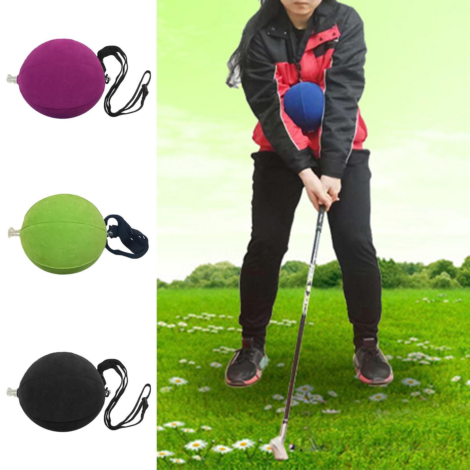 Golf Smart Inflatable Swing Trainer Ball Posture Correction Training Supplies