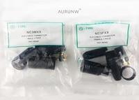 aurunw 60pcslot brand new for neutrik connector 30pcs nc3mxx 30pcs nc3fxx male femelle3pin xlr connecteur avec