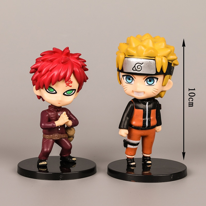 1 pcs/lot Anime Naruto Action Figure Toys Zabuza Haku Kakashi Sasuke Naruto Sakura PVC Model Collection Kids Toys