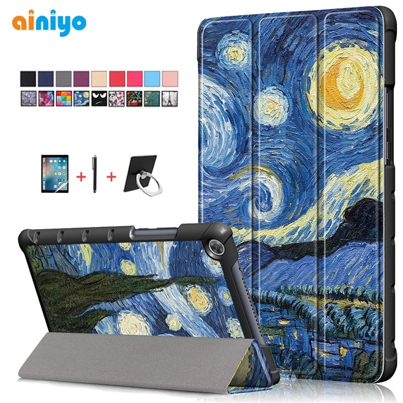 Funda para Huawei Mediapad M5 lite 8,0 JDN2-W09 JDN2-AL00 funda para Tablet para Huawei Mediapad m5 lite 8 funda + película regalos