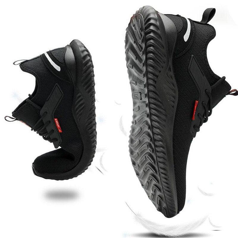 Дышащие Нескользящие промышленные мужские кроссовки