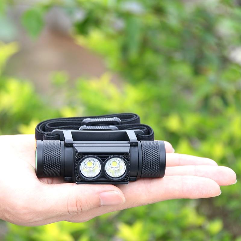 LED MINI HEADLAMP USB RECHARGEABLE CREE XM-L2 HEADLIGHT IPX6 WATERPROOF HEAD LIGHT TORCH FLASHLIGHT 1* 18650 MINI HEAD LAMP