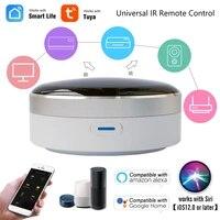 Tuya maison intelligente IR Blaster controleur infrarouge telecommande vie intelligente APP minuterie prise en charge Alexa Google Home Siri commande vocale