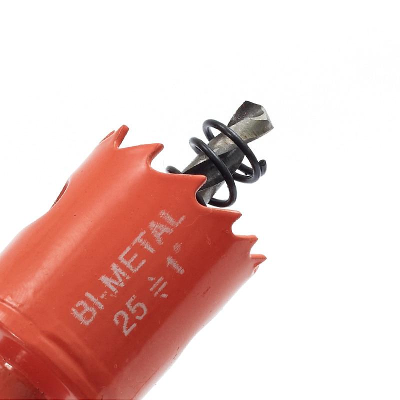 Scie cloche bi-métal M42, 15-200mm, mèches pour menuiserie, pour aluminium, fer, bois, acier inoxydable, outils d'ouverture de coupe, livraison gratuite
