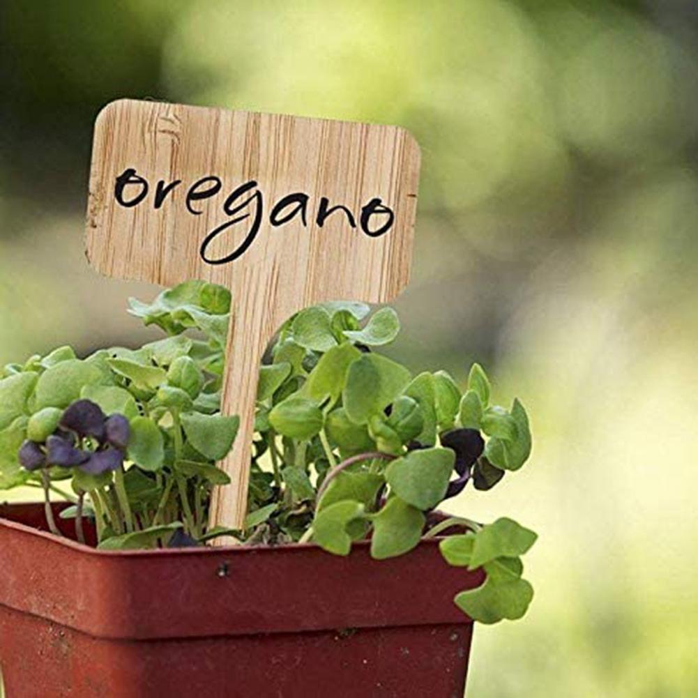 50% г., Лидер продаж, 10 шт., этикетки для растений, декоративные устойчивые износостойкие деревянные садовые этикетки, вставки для растений, ук...