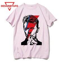 Homme Rip David Bowie T-shirt Hommes Femmes Angleterre Rock Pop Star T-shirt Drôle Imprimé Tshirt Unisexe Hip-Hop top T-shirts Mâle