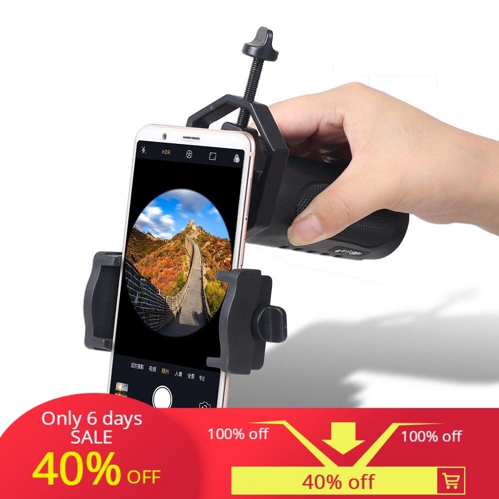 Универсальный держатель для сотового телефона, совместимый с бинокль; Монокуляр телескоп и микроскоп Cellulare