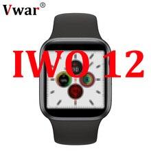 Vwar IWO 12 40mm Montre Intelligente Série 5 11 pour Apple IOS Android FRÉQUENCE Cardiaque ECG Femmes IWO12 Montre Intelligente iwo 11 8 Plus 9 10 13 PR0
