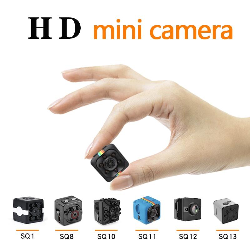 Mini cámara HD 1080P Sensor visión nocturna videocámara movimiento DVR Micro Cámara deporte DV Video pequeña cámara SQ11