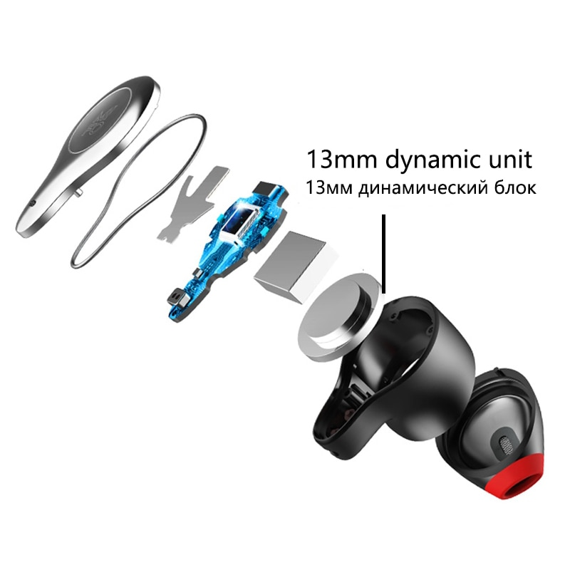 mifo o2 Binaural wireless Bluetooth headset 5.0 mini tiny tws into earbuds sports running mobile phone universal noise reduction enlarge
