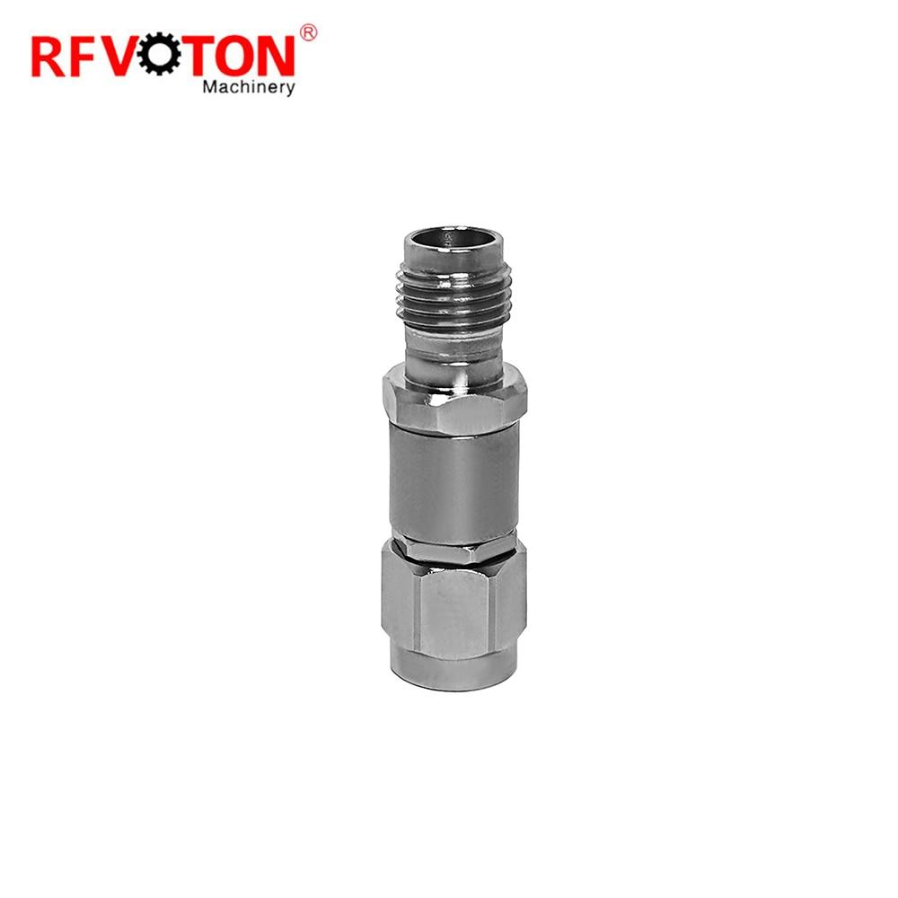 Бесплатная доставка высокочастотный миллиметровый волновой переходник 2,4 мм с женской на 2,92 мм с вилкой RF коаксиальный адаптер