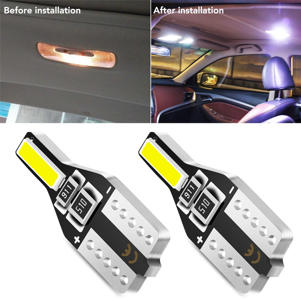 2PCS T10 LED W5W 194 Luz Interior Do Carro para Great Wall Haval H2 H2S H4 H6 H7 H8 H9 2014-2019
