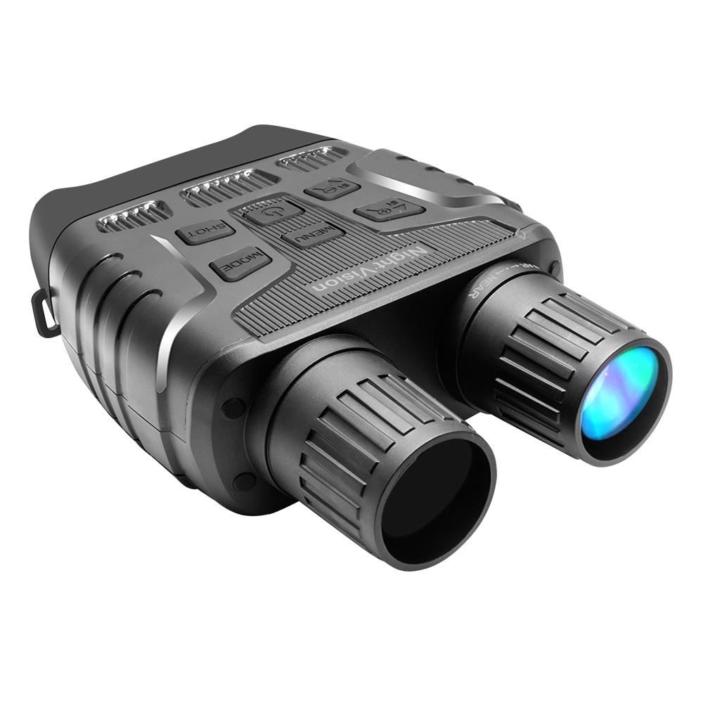 مجهر للرؤية الليلية جهاز عالية التكبير عالية الوضوح مناظير ليلة الأشعة تحت الحمراء الرقمية تليسكوب رؤية ليلية