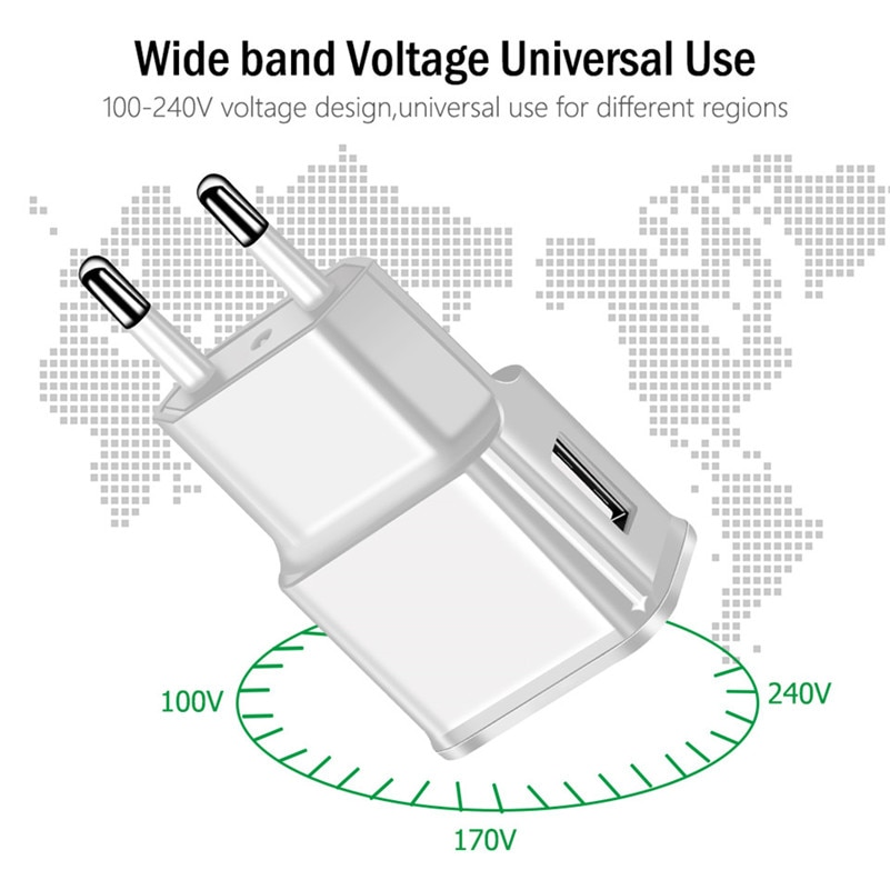 Micro USB adaptador/cargador de pared para TP-Link Neffos X1 C5 Max C9A...