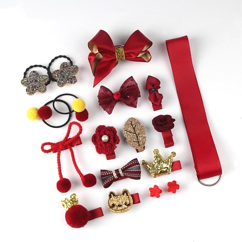 18 buc set de agrafe pentru păr, accesorii drăguțe pentru păr, - Accesorii pentru haine - Fotografie 6