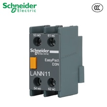 Contactor 1NO + 1NC 2NO 2NC para bloque de contacto auxiliar frontal LANN11N para Contactor LC1N Schneider