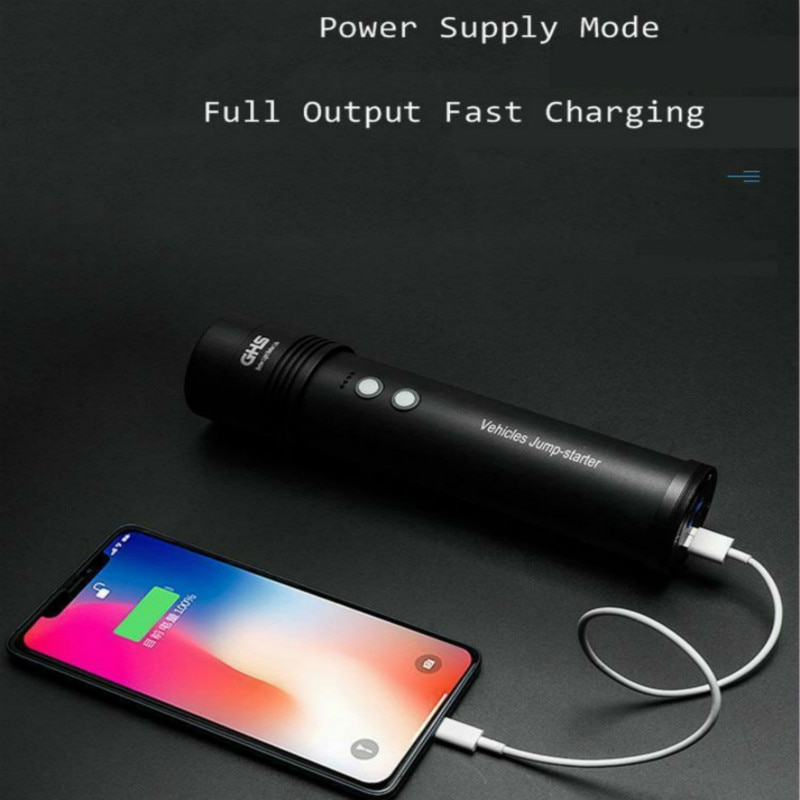 Emergency Power Supply In Jump Stater Power Bank Portable Car Battery  Booster Charger Glare 12V Flashlight Displacement 5.0 enlarge