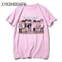 Got7 T Shirt Korean Women/men Clothes Tshirts Harajuku Ulzzang Got 7 T-shirt Pink Shirt Casual Female/Male Jackson Top Tee