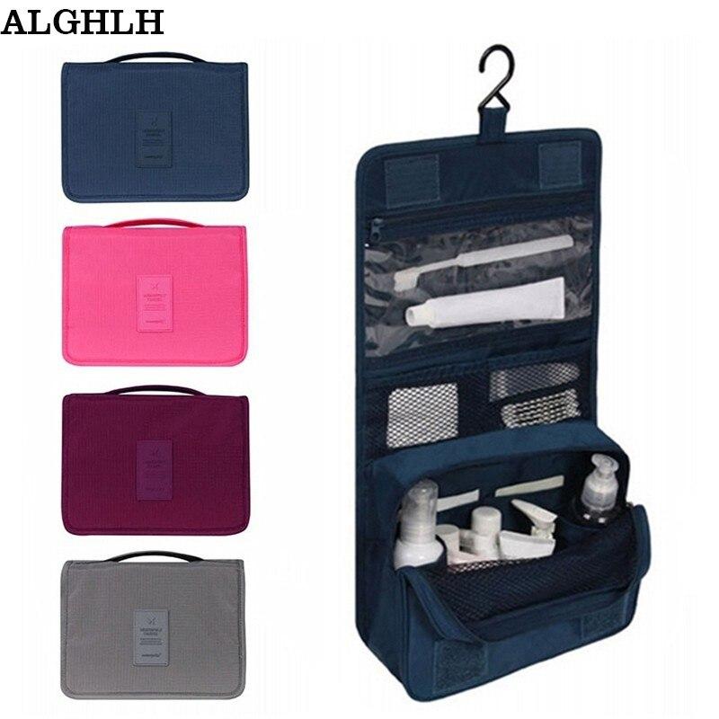 Сумка Для Хранения Туалетных принадлежностей ALGHLH Женская, унисекс, прозрачная, для путешествий, органайзер для туалетных принадлежностей, ...