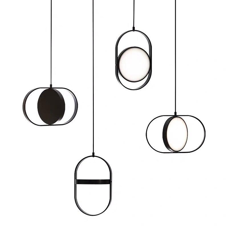 شمال أوروبا Ins مصمم قلادة أضواء الحديثة الحد الأدنى بسيط تعليق الإنارة مطعم غرفة نوم مكتب دراسة بار