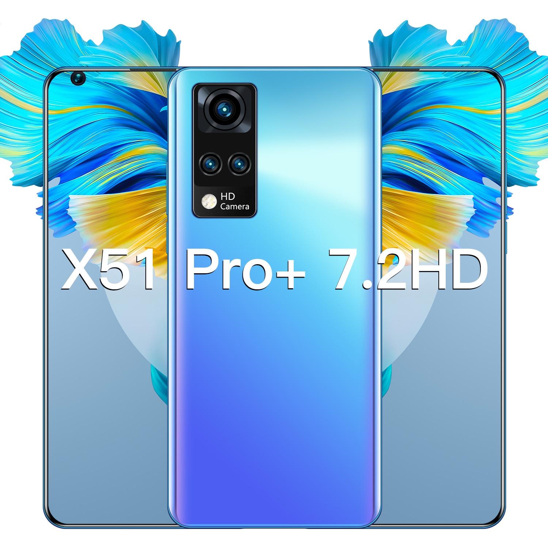 blackview a9 pro 5 0 inch 2gb 16gb smartphone blue Hot Sale X51Pro+ 7.2 Inch Surface Screen 6800mAh 2GB RAM 16GB Smartphone Unlocked Dual Sim Android Mobilephone Celular Cellphone