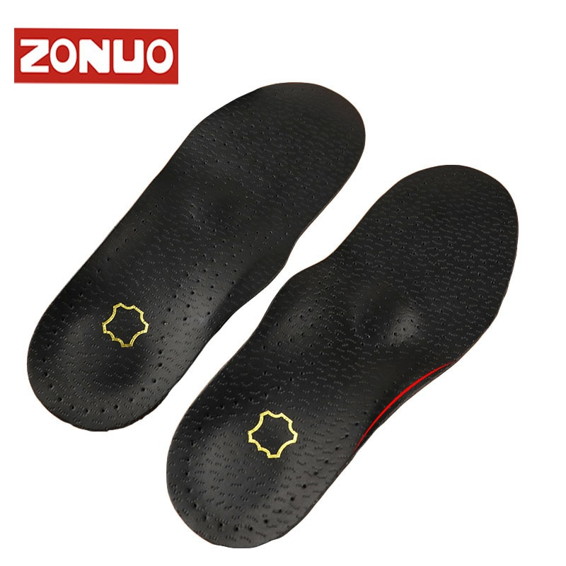 1 Pair Flat Feet Arch Support Insole Silica Orthotics Superier Breathable Latex Leather Insole Foot Pad 1 pair flat feet arch support insole silica orthotics superier breathable latex leather insole foot pad