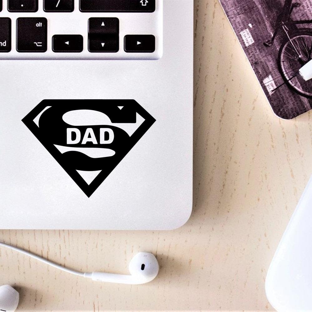 Diy Art Superman laptop sticker Laptop Cover Sticker For Xiaomi/Dell/Asus laptop decoration