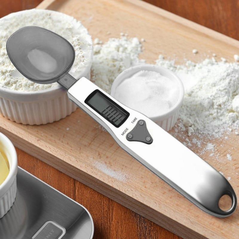 Colheres de medição digital precisas ingredientes de nutrição eletrônica colher peso volumn alimentos cozimento escala display lcd