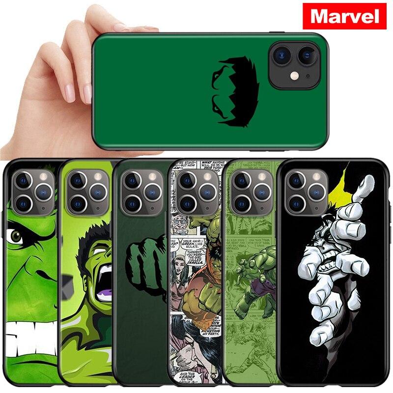 funda-negra-de-los-vengadores-de-marvel-para-movil-carcasa-negra-para-iphone-12-11-pro-max-mini-hulk-iphone-max-xr-x-8-7-6-plus-5s-se