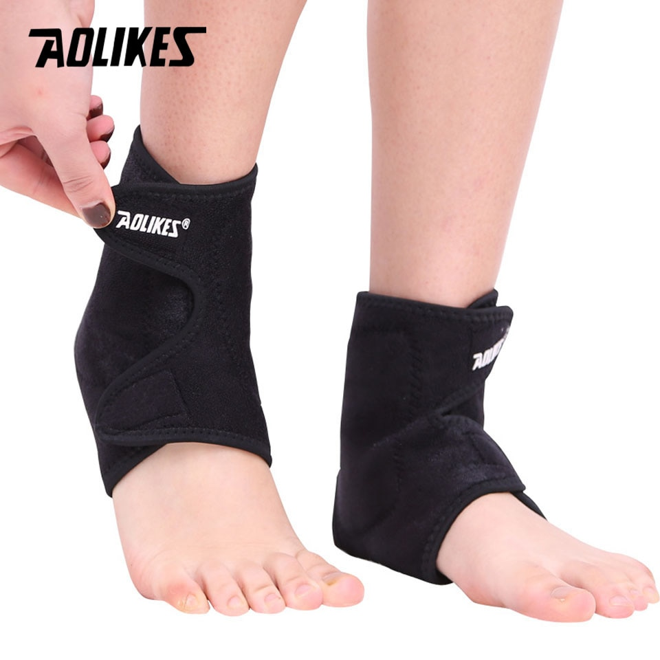 1 par de imanes de turmalina autocalefactora soporte de tobillo soporte deportivo seguridad Protector de lesiones de pie invierno cálido cuidado de la salud nuevo