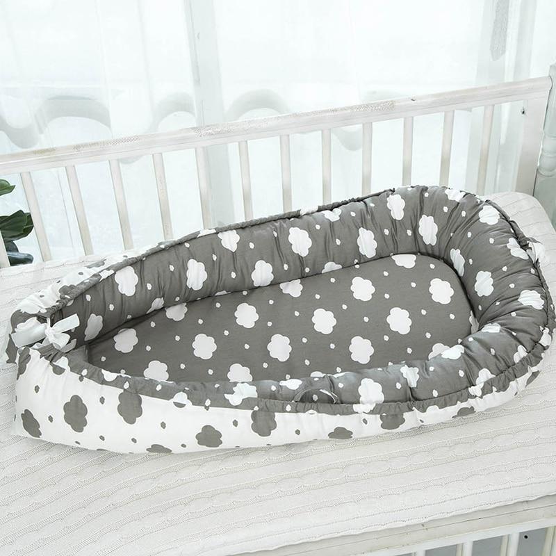 Корзина для детской кроватки, портативные бамперы для детской коляски, подушка для кровати, дорожная безопасная защита