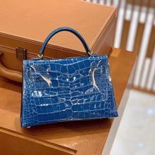 classic luxury designer mini handbags woman clutch bags import real crocodile leather Europe brand t