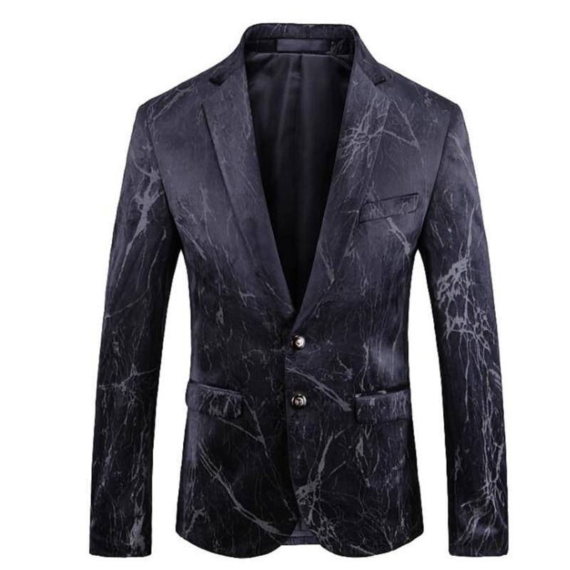 Chaqueta de talla grande para hombre, traje de gama alta, estilo europeo...
