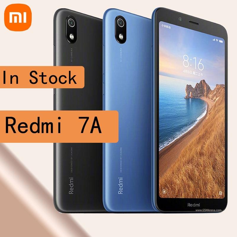 celular Xiaomi Redmi 7A smartphone 5.45 inch 4000mAh Unlocked Global firmware Dual SiM Face ID 4G Android smartphone