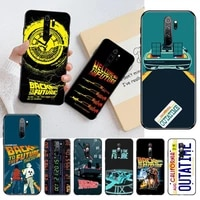 hpchcjhm back to the future shell phone case for redmi note 9 8 8t 8a 7 6 6a go pro max redmi 9 k20
