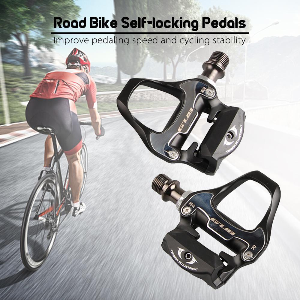 HiMISS GUB педали для шоссейного велосипеда с самоблокирующимся замком легкие велосипедные педали из алюминиевого сплава педали для шоссейног...