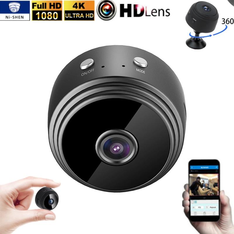 Фото - Видеокамера ночного видения с датчиком 1080P, миниатюрная IP-камера, видеорегистратор движения, микро-камера, Спортивная видеокамера DV, малень... видеокамера