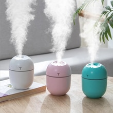 USB MINI Ultrasonic Air Humidifier Aroma Essential Oil Diffuser Spray Mist Maker With LED Light For Home Car