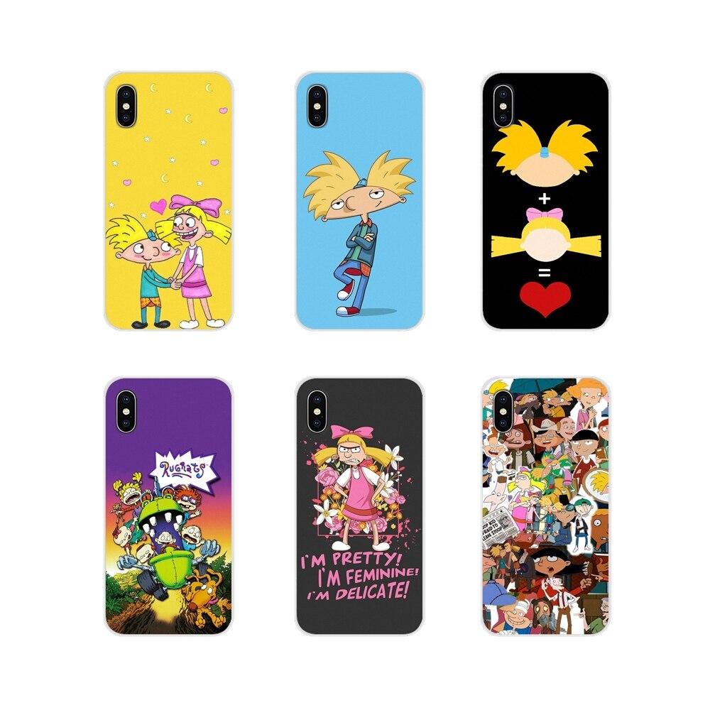 Hey Arnold Für Apple iPhone X XR XS 11Pro MAX 4S 5S 5C SE 6S 7 8 plus ipod touch 5 6 Zubehör Telefon Shell Abdeckungen