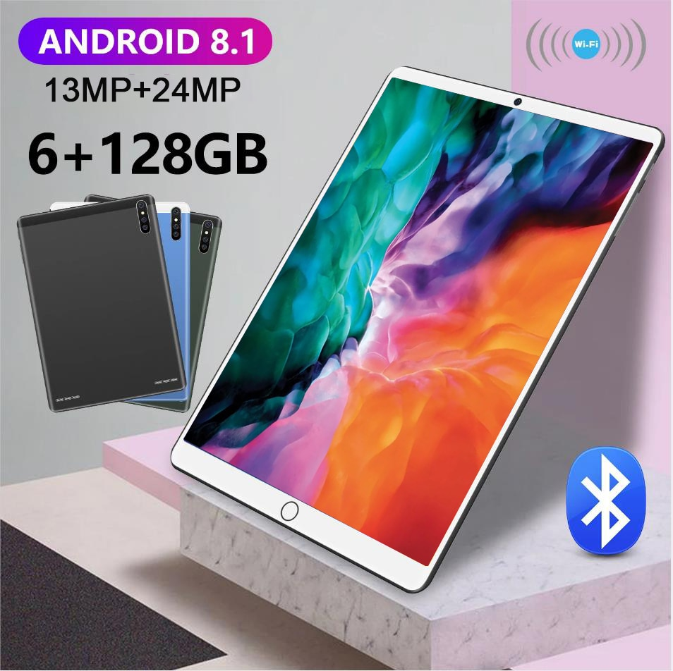 Android 8.1 MatePad Pro Tablets 10.1 Inch 6GB RAM 128GB ROM tablet Android 4G Network 10 Core Tablet