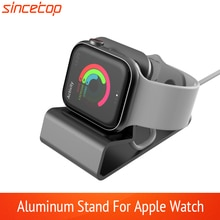 Exquisite Aluminum silicon Bracket Charger Dock Station Charging Holder for apple watch Stand Series