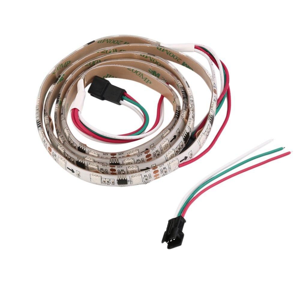 icoco fita de luz led ws2811 12v 48led m rgb faca voce mesmo ferramenta de decoracao para casa