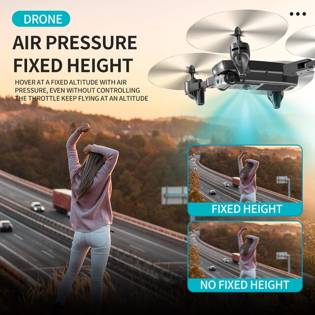 SHRC S173 Mini Drone With Camera 4K HD Professional Wide Angle Selfie WIFI FPV VS RC Quadcopter S167 Dron GPS 4