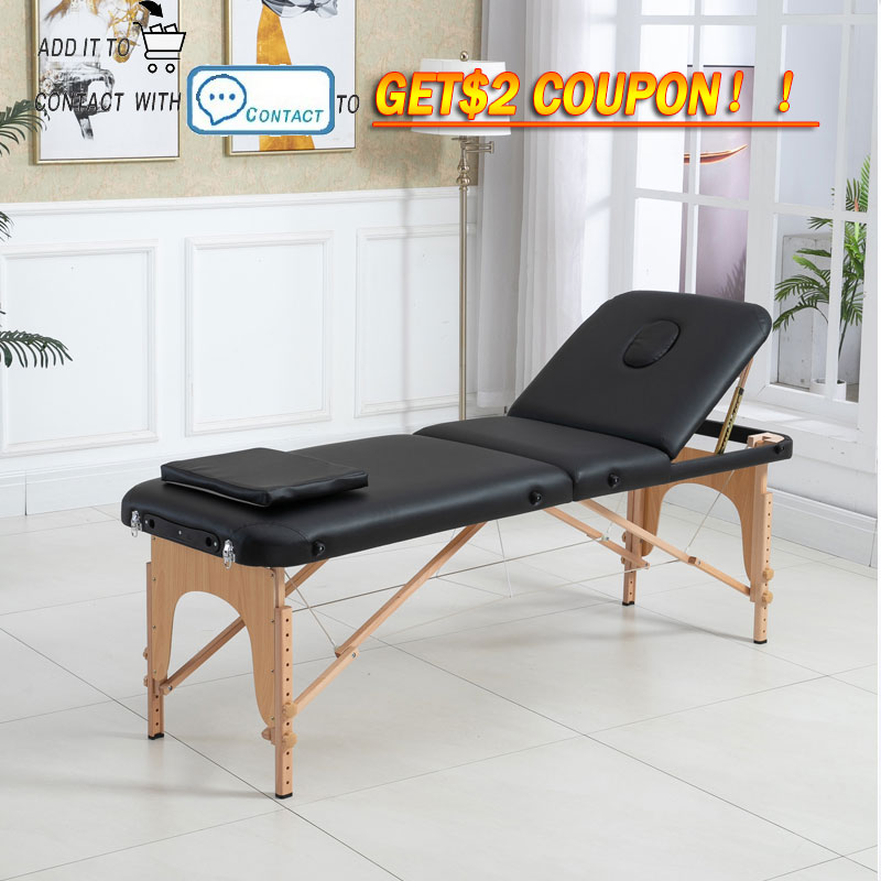 Spa Table  Folding massage table  massage table Massage chair Massage Bed 3 Fold  Massage table Folding table