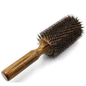 Bristle Wood Curl Hair Comfortable Comb Internal Buckle Blow Molding Bristle Wood Comb Hair Salon Durable Comb