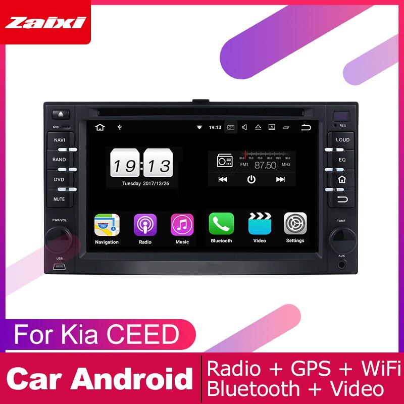 Android car dvd gps reproductor multimedia para Kia CEED 2006, 2007, 2008, 2009 coche dvd navegación radio video reproductor de audio Navi mapa